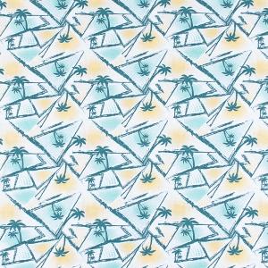 Ткань на отрез кулирка карде Пляж 3277-V1