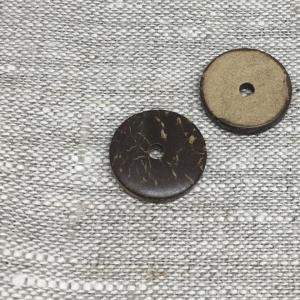Пуговица ПР164 20мм кокос уп 12 шт