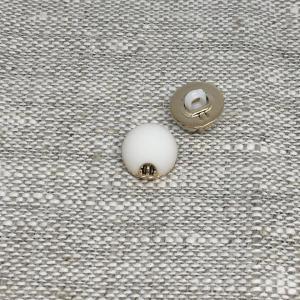 Пуговица ПР168 10мм белая уп 12 шт