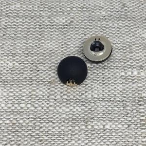 Пуговица ПР168 10мм черная уп 12 шт