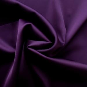 Ткань полисатин однотонный фиолетовый