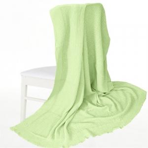 Покрывало-плед Петелька 150/200 цвет салатовый
