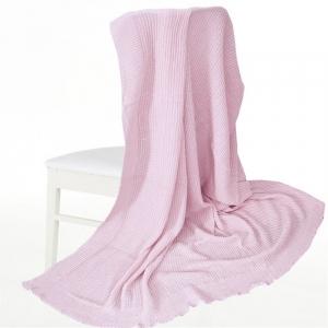 Покрывало-плед Петелька 150/200 цвет розовый