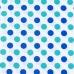 Ткань на отрез бязь плательная 150 см 1718/1 цвет мята-василек