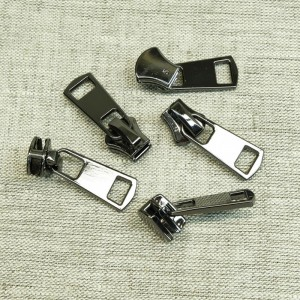 Бегунок металл №5 авт. черный никель БФ 5100