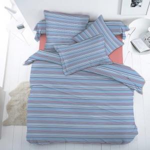 Ткань на отрез бязь Премиум 150 см 13008/2 Полосочка
