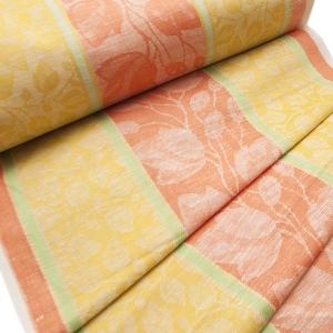 Ткань на отрез полулен полотенечный 50 см Жаккард 1/136/94