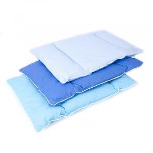 Подушка для новорожденных 40/60 цвет голубой