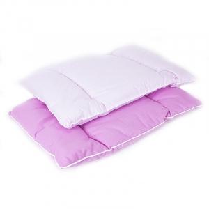Подушка для новорожденных 40/60 цвет розовый