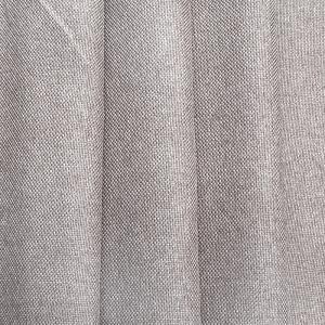 Ткань на отрез Blackout лен рогожка 508-41 серо-бежевый