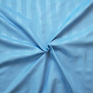 Страйп-полисатин гладкокрашеный 220 см цвет голубой
