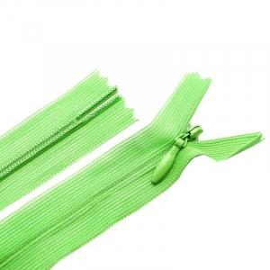 Молния пласт потайная №3 20 см цвет молодая зелень
