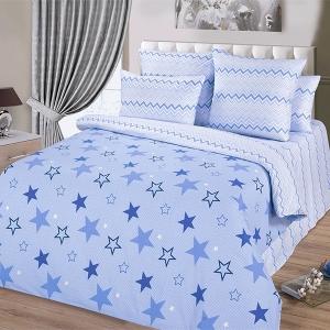 Поплин 220 см Звездный синий 11142/2