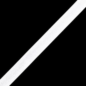 Тесьма белая 7 мм уп 8м