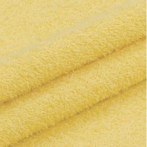 Махровая ткань 220 см 380гр/м2 цвет светло-желтый