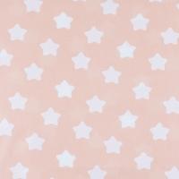 Ткань на отрез бязь плательная 150 см 1737/4 цвет персик