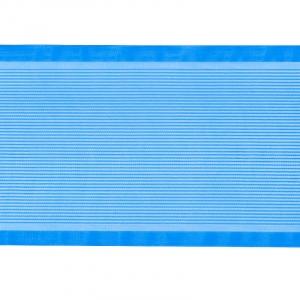 Лента для бантов ширина 80 мм (25 м) цвет синий