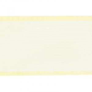 Лента для бантов ширина 80 мм (25 м) цвет желтый