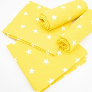 Набор детских пеленок бязь 4 шт 73/120 см 1700/8 цвет желтый