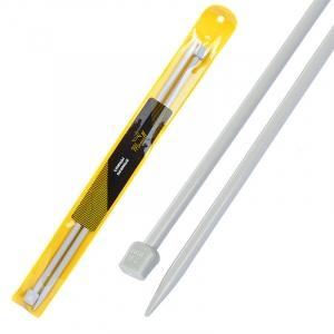 Спицы для вязания прямые Maxwell Gold Тефлон 6569 7,0 мм 35 см 2 шт