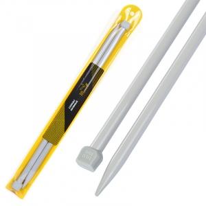 Спицы для вязания прямые Maxwell Gold Тефлон 6590 10,0 мм 35 см 2 шт