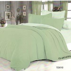 Полисатин гладкокрашеный 220 см цвет 15-6414 светло-зеленый