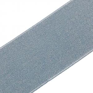 Резинка декоративная 2287 светло серый 4 см