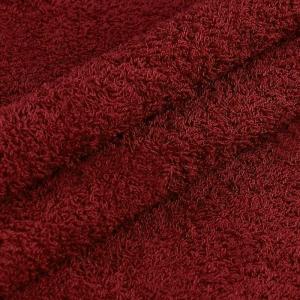 Махровая ткань 220 см 430гр/м2 цвет винный