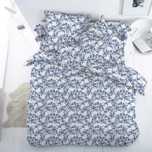 Ткань на отрез бязь 120 гр/м2 150 см 13153/5 Сакура цвет синий