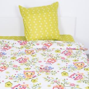 Детское постельное белье из бязи 1.5 сп 201281 Совята