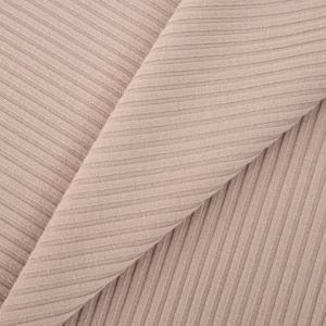 Ткань на отрез трикотаж лапша цвет капучино
