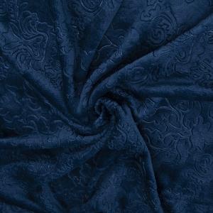 Ткань на отрез велсофт Orrizonte 300 гр/м2 200 см 3070 цвет синий