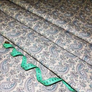 Ткань на отрез бязь плательная 150 см 4914/2