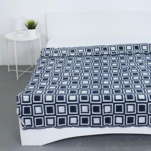 Одеяло полушерсть 500 гр/м2 цвет темно-синий 150/200 см