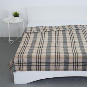Одеяло полушерсть 420 гр/м2 цвет серый 190/200 см