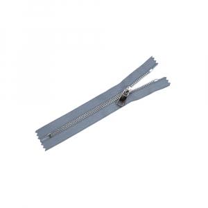 Молния металл №5ТТ никель н/р 18см D243 серый