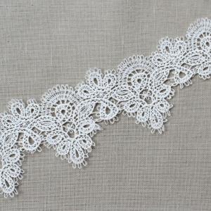 Кружево плетеное СЕВЕР белое CF0704 5,5 см упаковка 10 м