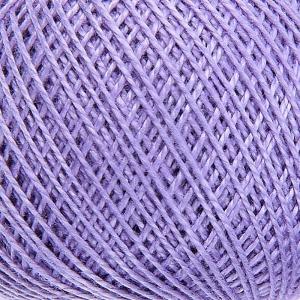 Нитки для вязания Ирис 100% хлопок 25 гр 150 м цвет 2306 сиреневый