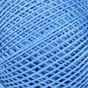 Нитки для вязания Ирис 100% хлопок 20x25 гр 150 м цвет 2608 голубой