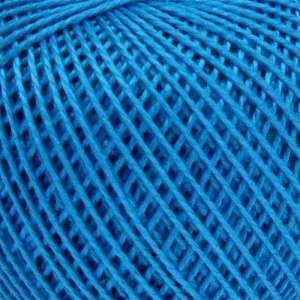 Нитки для вязания Ирис 100% хлопок 20x25 гр 150 м цвет 3010 темно-бирюзовый