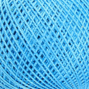 Нитки для вязания Ирис 100% хлопок 25 гр 150 м цвет 3104 синие сумерки