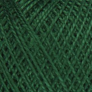Нитки для вязания Ирис 100% хлопок 20x25 гр 150 м цвет 3807 темно-зеленый