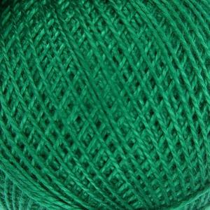 Нитки для вязания Ирис 100% хлопок 20x25 гр 150 м цвет 4110 зеленый