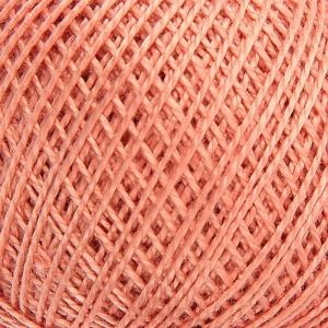 Нитки для вязания Ирис 100% хлопок 20x25 гр 150 м цвет 5602 светло-терракотовый