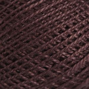 Нитки для вязания Ирис 100% хлопок 20x25 гр 150 м цвет 5710 тёмно-коричневый