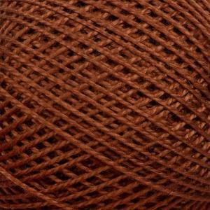 Нитки для вязания Ирис 100% хлопок 20x25 гр 150 м цвет 6512 коричневый