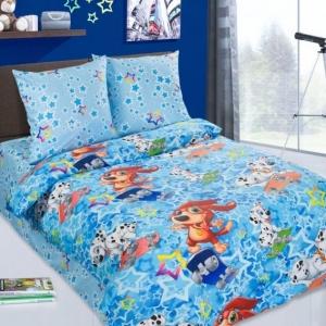 Детское постельное белье 8231/1 Скейтборд 1.5 сп поплин