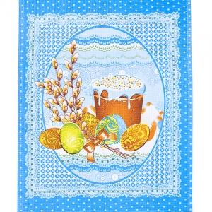 Ткань на отрез вафельное полотно 50 см 170 гр/м2 19842/1 Верба