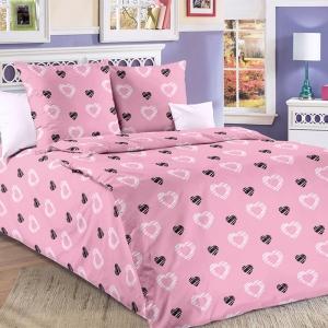 Бязь 120 гр/м2  150 см Валери 1 цвет розовый 204601