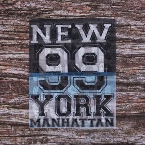Декоративный  элемент пришивной New York 99 Manhattan 20,5*25 см